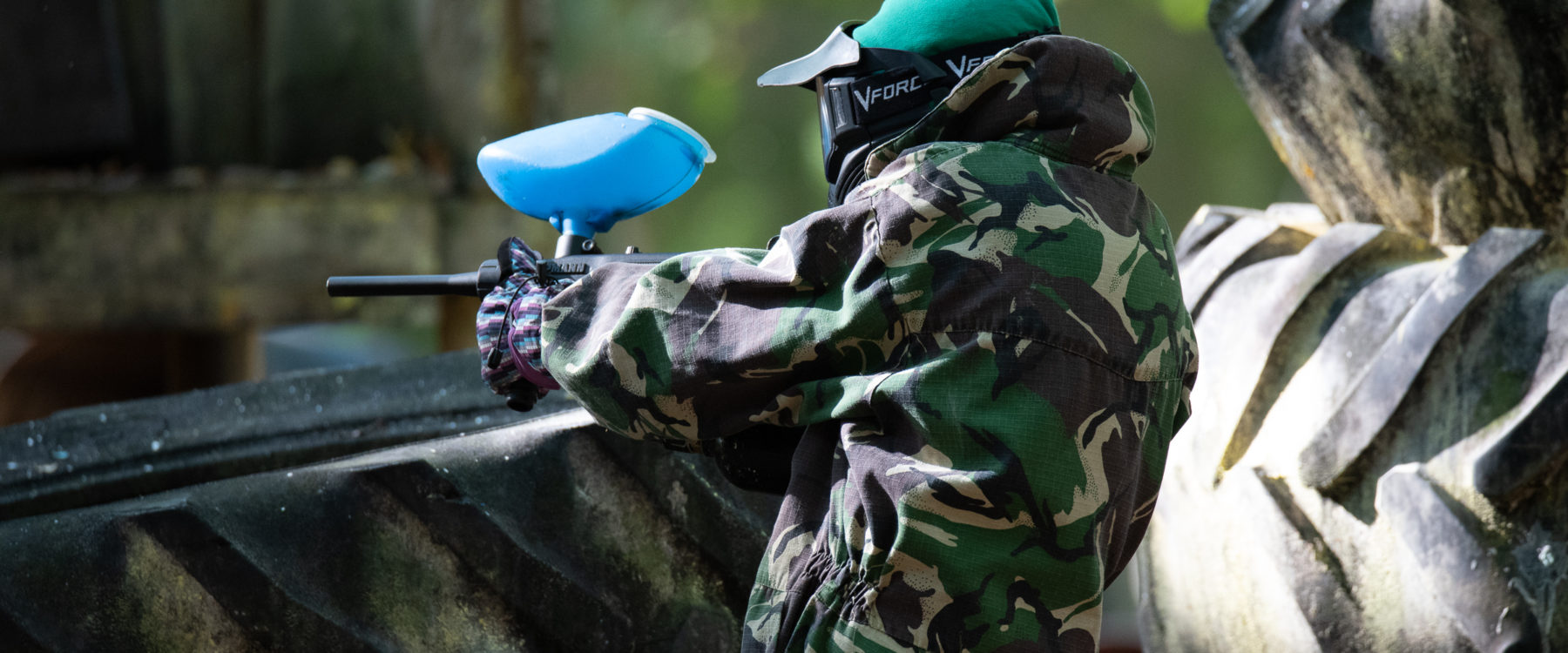 Junior Paintball at Oaker Wood