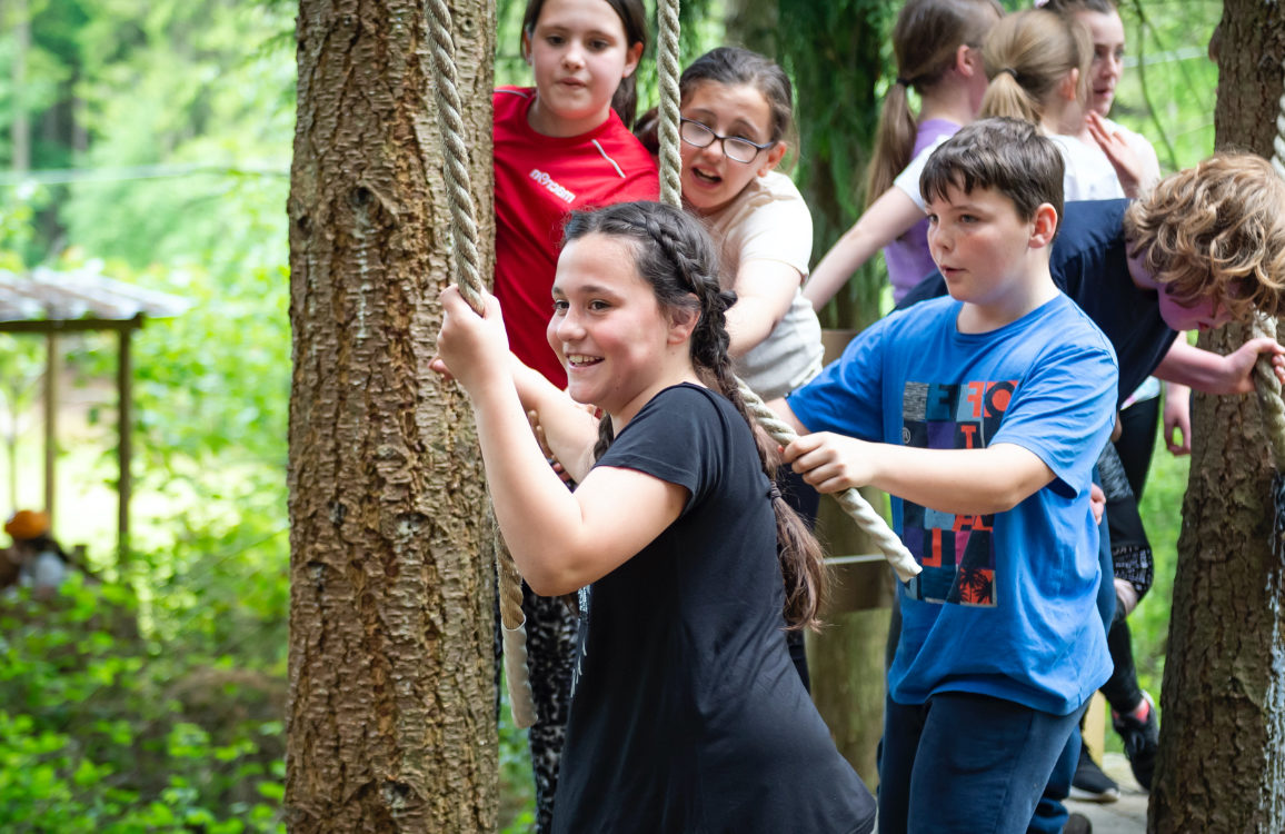 Low Ropes Assault Course