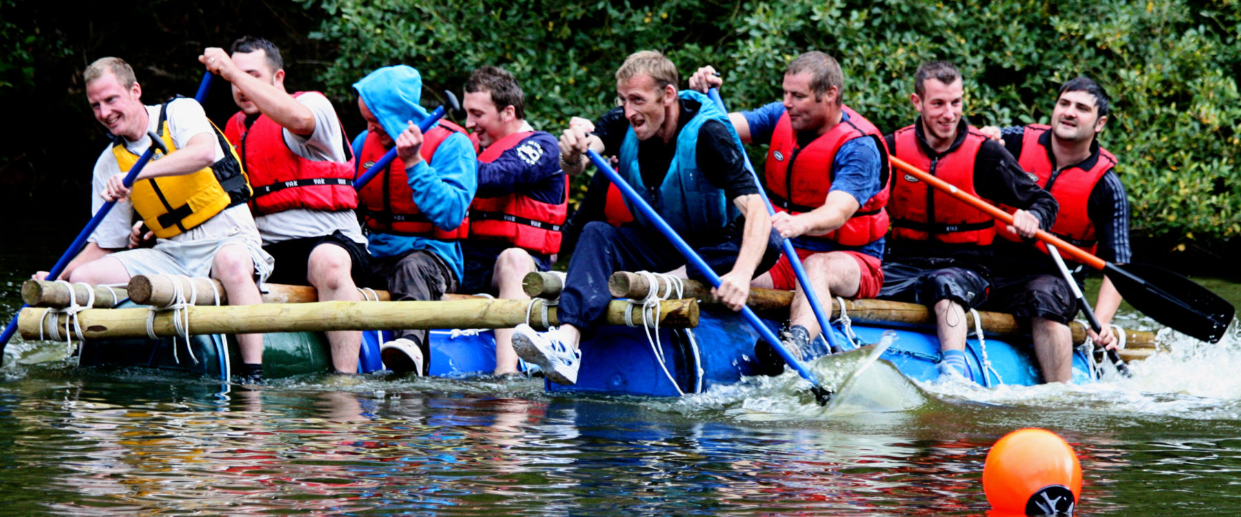 Raft Building for Companies