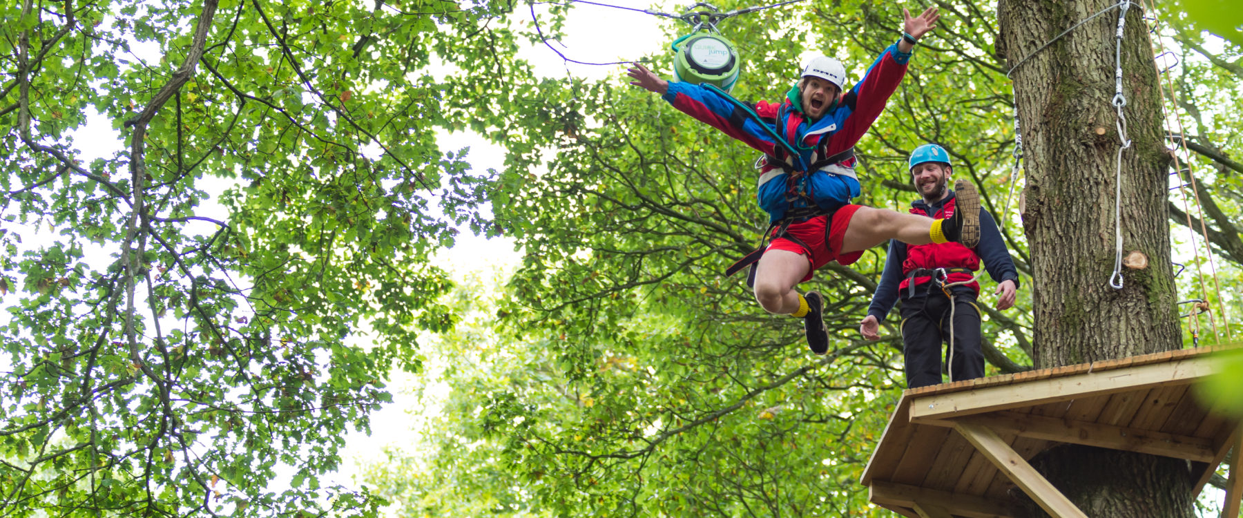 Adrenalin High Rope Activities at Oaker Wood