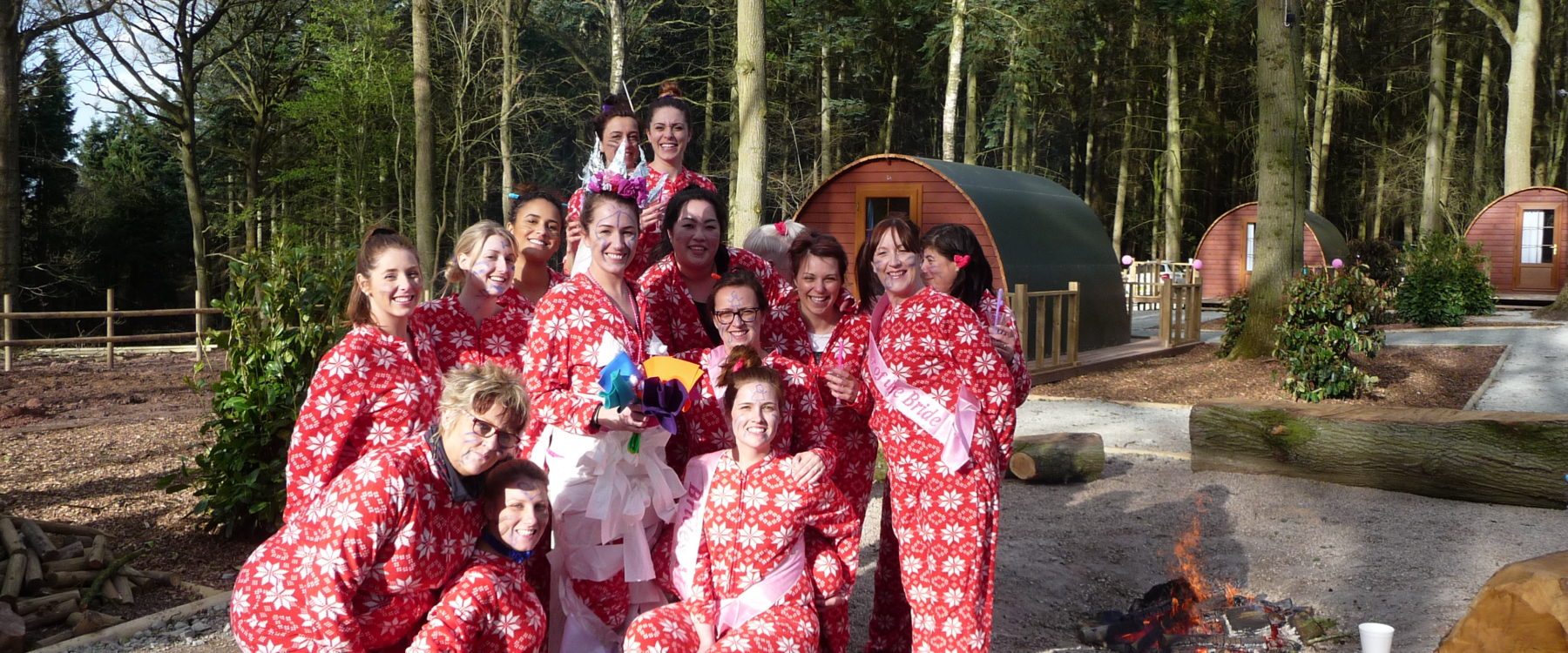 Glamping site for exclusive hire for hen parties