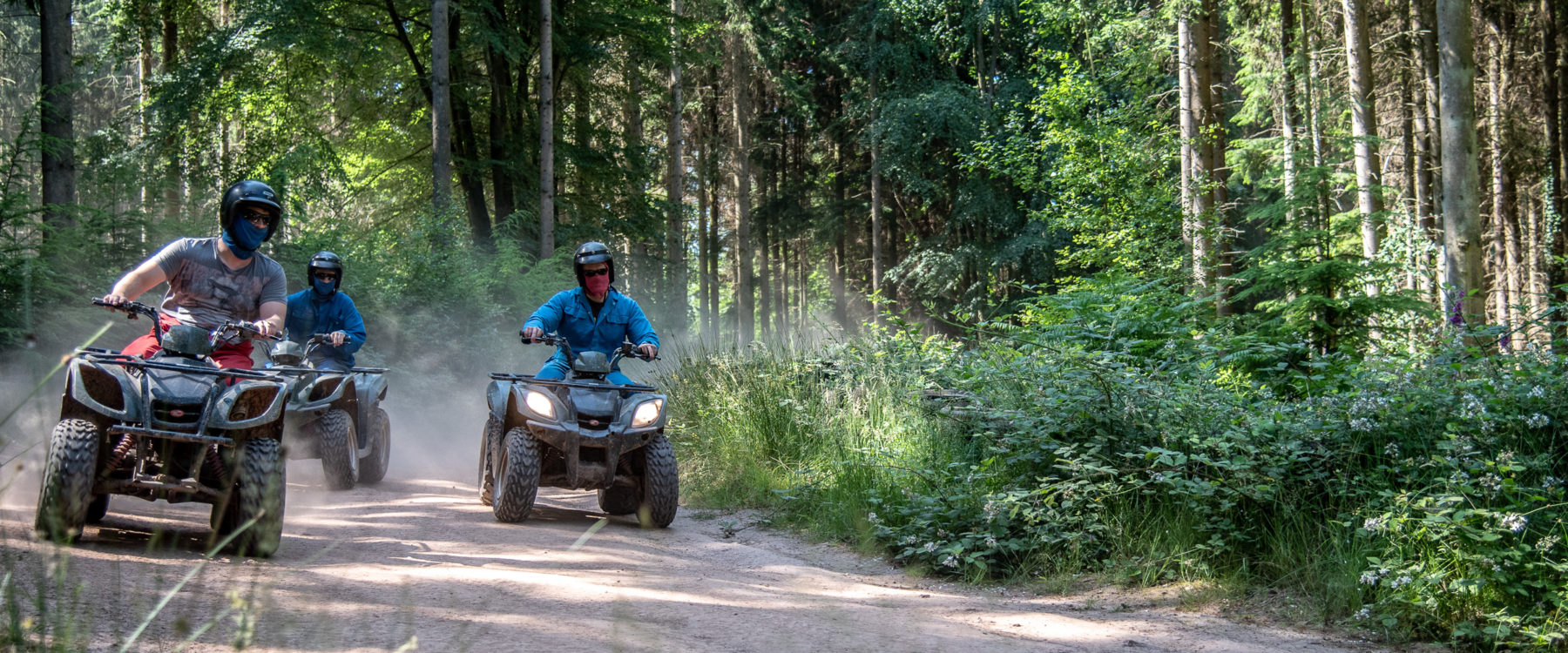 Quad Trekking Oaker Wood