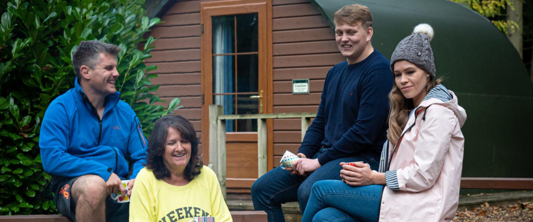 Family Glamping at Oaker Wood