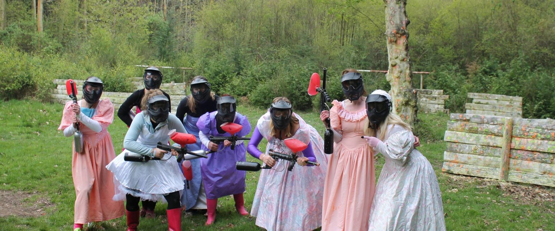 Paintball for hen Groups