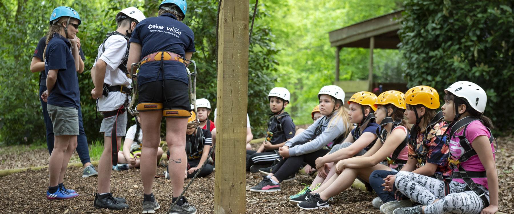 High Ropes at Oaker Wood
