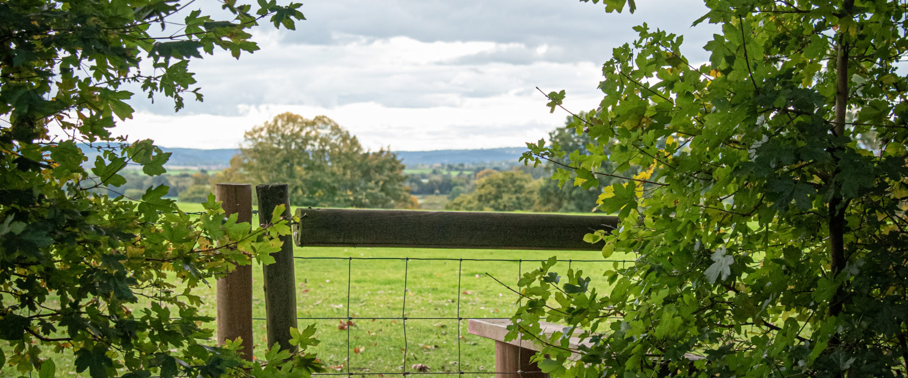 Herefordshire walking - style from Oaker Wood Glamping Village