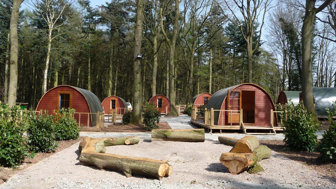 NCS accommodation at Oaker Wood